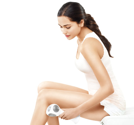 Use Tria Beauty's at-home laser for hair removal for smooth skin.