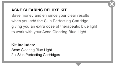 Skin Perfecting Blue Light Value Kit - Tria Beauty